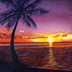 Pacific Sunset Painting
