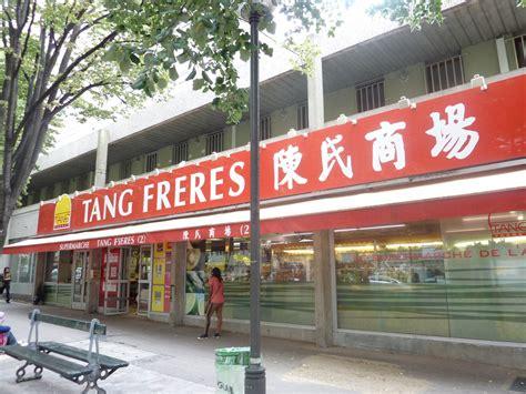 quartier chinois à epicerie chinoise tang frères les quartiers chinois
