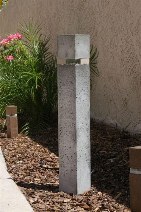 outdoor concrete light bollard  led