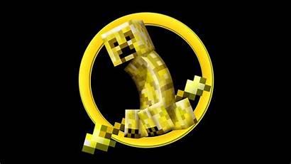 Creeper Minecraft Golden April Snapshot Fools