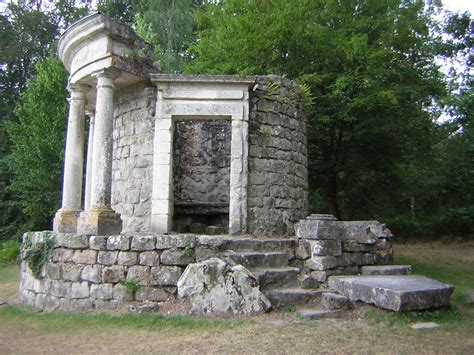 Le Parc Jean-jacques Rousseau D'ermenonville