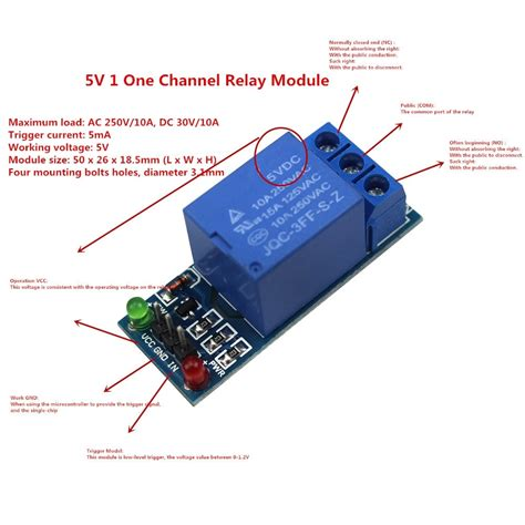 One Channel Relay Module Low Level For Scm Household