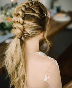 10 Braided Hairstyles For Long Hair Weddings Festivals