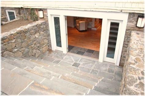 basement walkout walkout basement entrance with doors