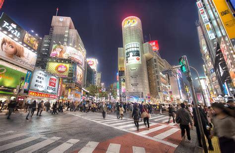 shibuya square tokyo japan japan  night