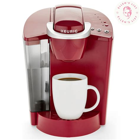Using a single serve coffee machine results in significantly less wasted coffee every day, as well. Keurig K-Classic K50 Single Serve K-Cup Pod Coffee Maker   Ellen DeGeneres Favorite Things ...