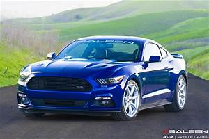 2015 Saleen 302 Mustang White Label Starts Filling Orders - autoevolution