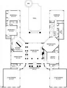 U Shaped Floor Plan by Best 20 U Shaped House Plans Ideas On U