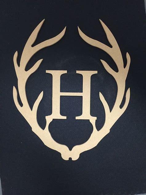 letter  brand  deer horns google search monogram