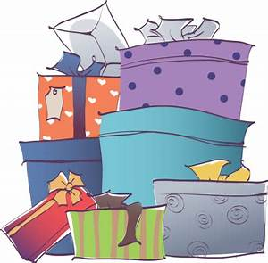 Stack of Blue and Purple Gift Boxes - Free Clip Arts ...