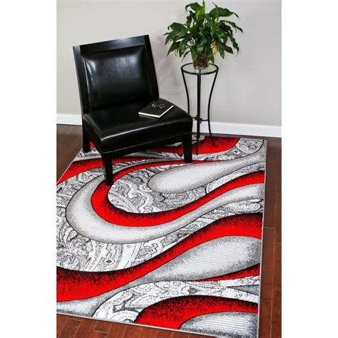 Shop Persian 4616 Collection Red/Grey/White/Black