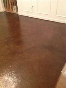 brown paper bag floor thepinktoolbox With brown paper bag floor on concrete