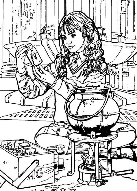 harry potter et la chambre des secrets pdf gratuit harry potter ginny coloring page coloring home