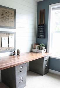 40 easy diy farmhouse desk decor ideas on a budget 31