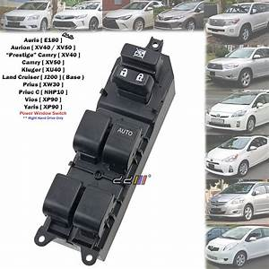 Rhd Front Power Window Switch Main Control For Camry Acv40
