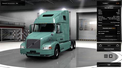 volvo truck dealer volvo vnl 660 for ats 1 3 x ats mods american truck