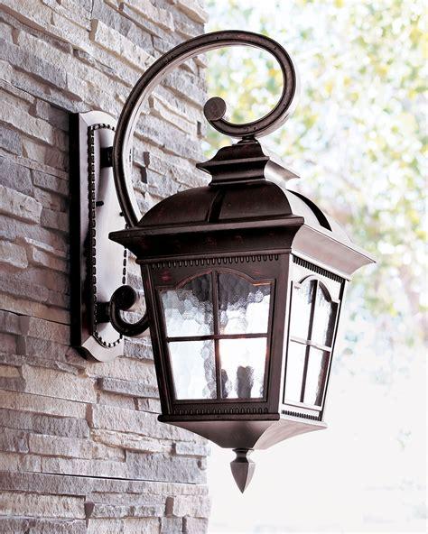 colonial three light wall lantern wall lantern water