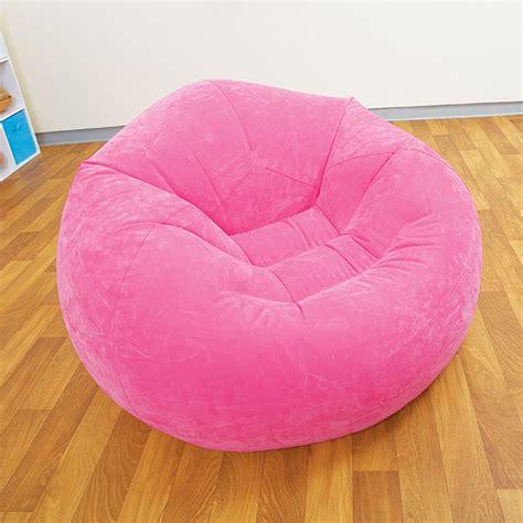 pouf de chambre pouf gonflable fauteuil disponible en vert violet
