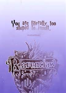 Harry Potter Ravenclaw House Quotes