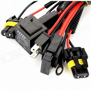 H7 Xenon Hid Conversion Kit Relay Wiring Harness Kit
