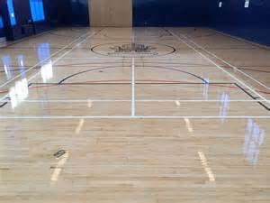 a guide to gym floor refinishing