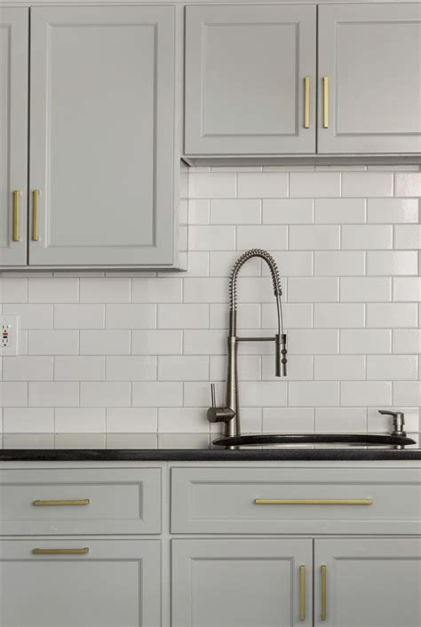 grey kitchen cabinets brass hardware quicua com