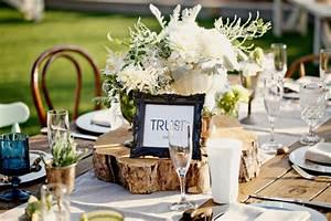 Mediterrane Tischdeko Ideen : tischdeko mit holz kreative ideen f r rustikalen und nat rlichen look ~ Sanjose-hotels-ca.com Haus und Dekorationen