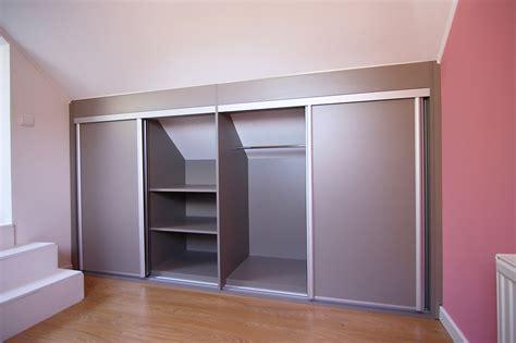 armoire de bureau design conception et installation de placard sous pente à