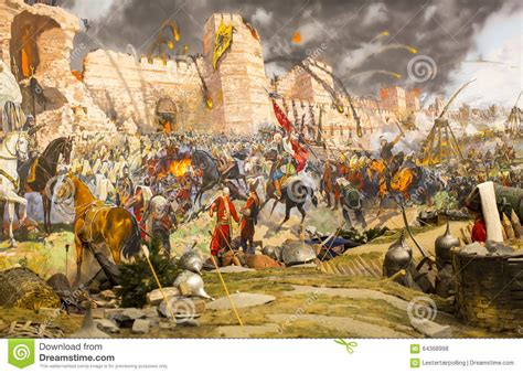 Fall Of Constantinople Editorial Stock Photo. Image Of