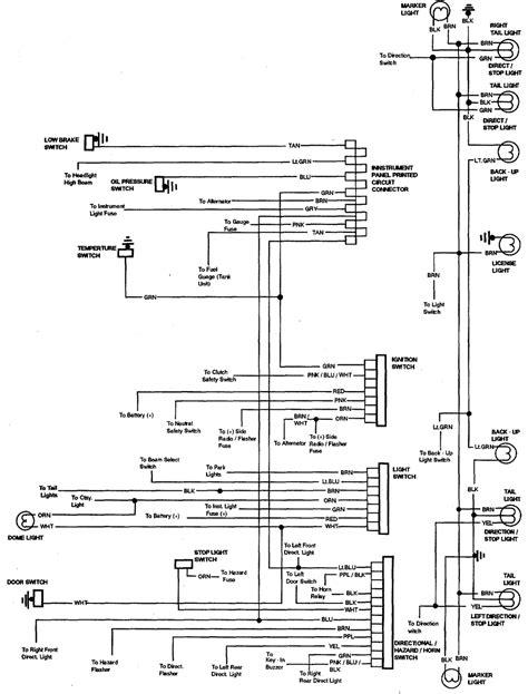 84 Chevy El Camino Wiring Diagram by 84 El Camino Engine Wiring Diagram Wiring Schematics