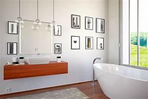 Wandbilder Für Badezimmer : wanddekoration im badezimmer farben bilder deko f r 39 s bad ~ Markanthonyermac.com Haus und Dekorationen