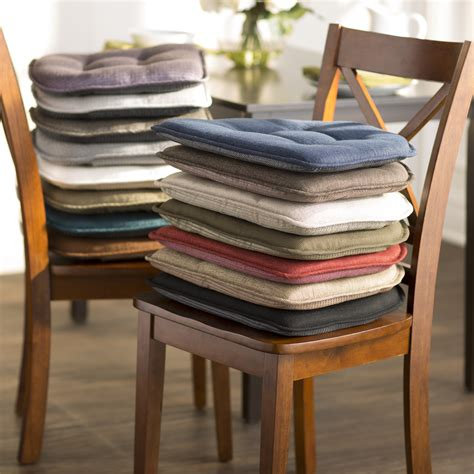 wayfair kitchen chair pads wayfair basics wayfair basics tufted gripper chair cushion