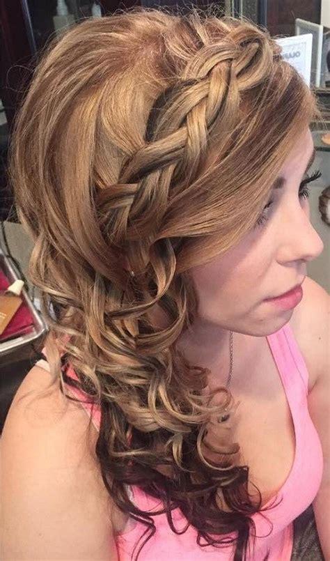 side hairstyles  prom    taste