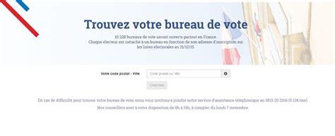 trouver bureau de vote trouver bureau de vote 28 images o 249 voter 224 la