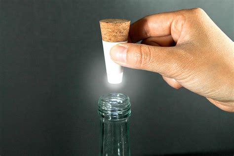 led lights for bottles turn bottles into ls with rechargeable led corks