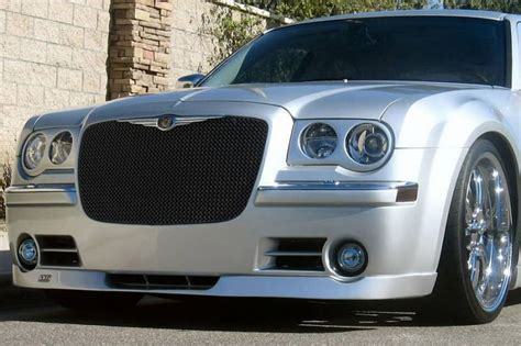 grillcraft sw series stainless upper mesh grille chrysler