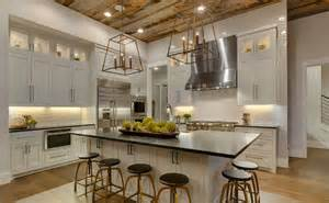 kitchen island with table attached modern farmhouse kitchens house of hargrove