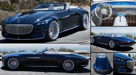 Mercedes-benz Vision Maybach 6 Cabriolet Concept (2017