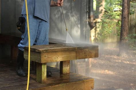 pressure washing  deck hgtv