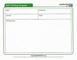 learning twice common core resources raft writing strategy With raft writing template