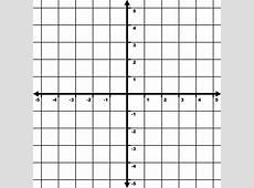 5 To 5 Coordinate Grid With Increments Labeled And Grid