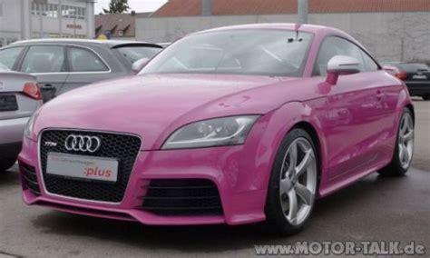 pink audi a7 audi tt rs pink 1 schlimme farbe auf einem tt audi tt