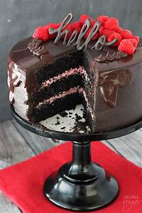 Red Wine Chocolate Cake - Life Love and Sugar