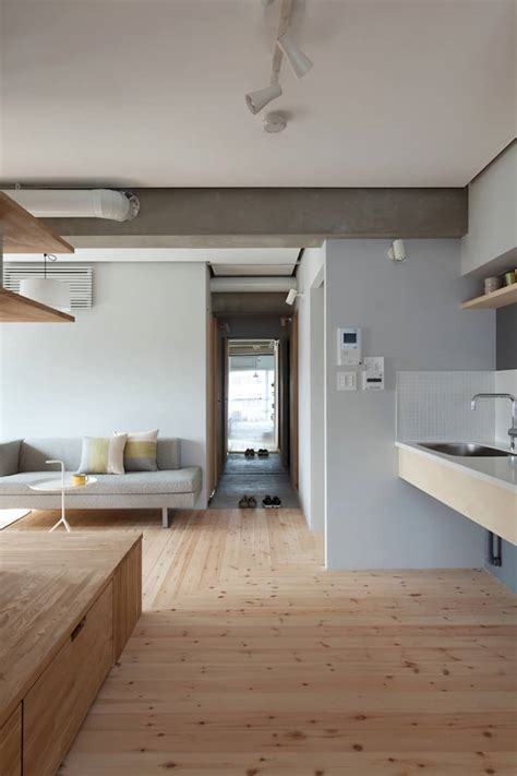 Japanese Minimalist Home Design by Two Apartments In Modern Minimalist Japanese Style