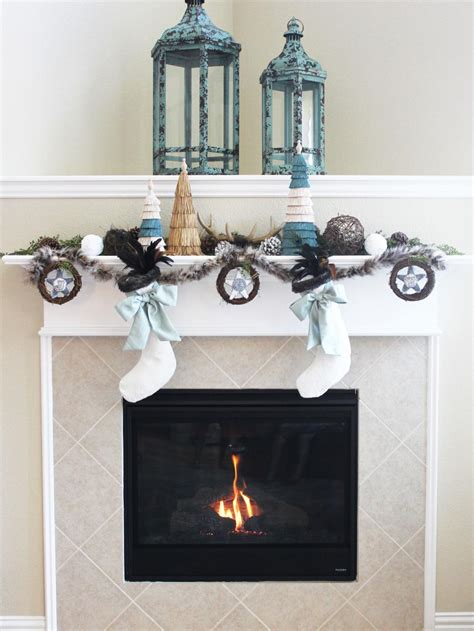 luxe rustic mantel decorating ideas diy