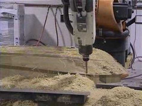 milling scale boat hull model youtube
