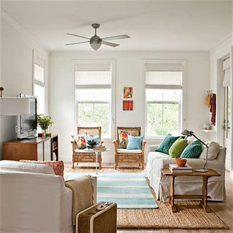cottage living rooms seaside style a pre fabulous cottage Coastal