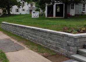 cost to install retaining wall how much do retaining walls cost