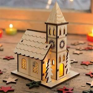 Bootslack Für Holz : kirche mit led beleuchtung lichthaus weihnachtshaus holz deko f r weihnachten ebay ~ Orissabook.com Haus und Dekorationen