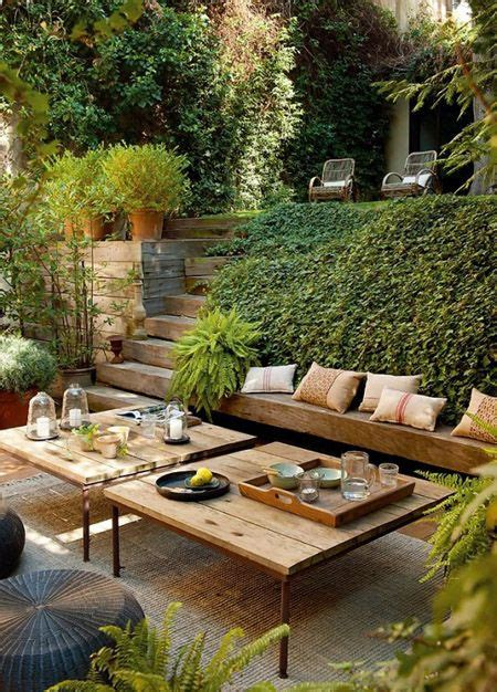 25 best ideas about sloped backyard on - Landscaping Ideas For Small Sloping Backyards